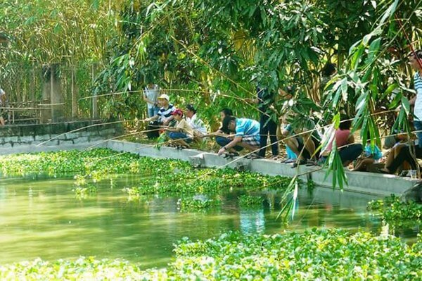 khu du lịch sinh thái Nhân Tâm