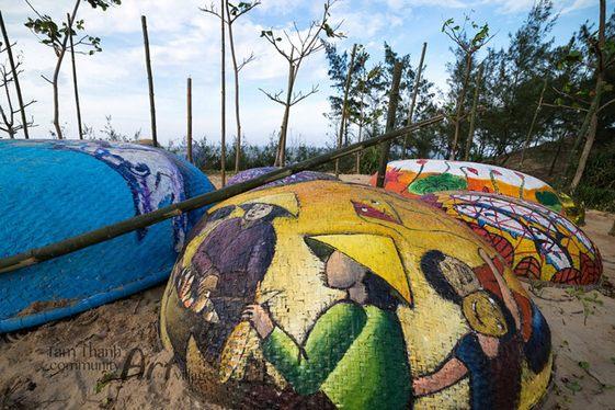 làng bích họa Tam Thanh