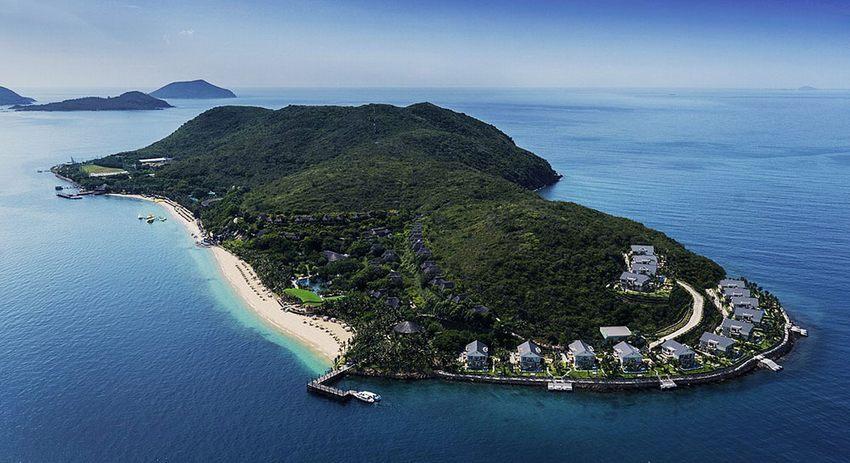 bãi biển Hòn Tằm Nha Trang