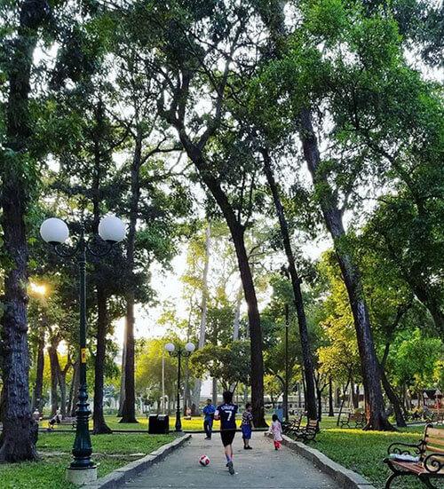 công viên Tao Đàn Quận 1