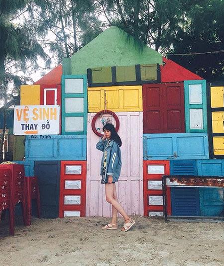 khu du lịch bãi tắm An Bình Long Hải