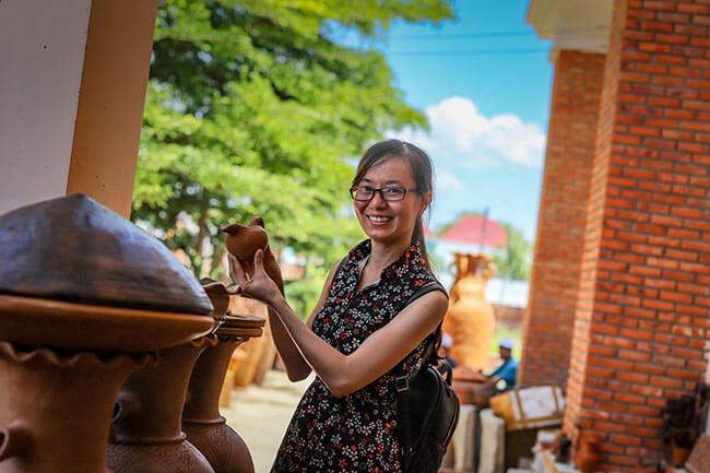 làng gốm Bàu Trúc Phan Rang