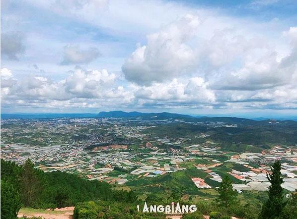 núi Lang Biang Đà Lạt