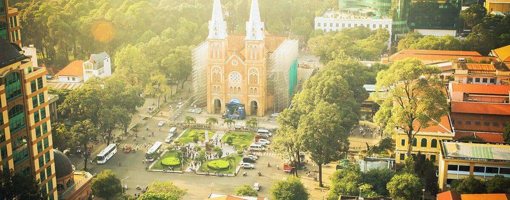 ảnh Sài Gòn đẹp