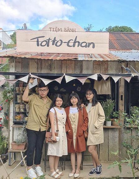 tiệm bánh Totto-chan Đà Lạt