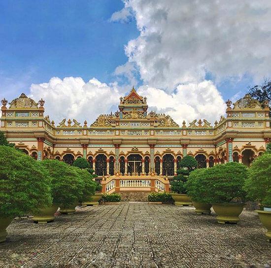 chùa Vĩnh Tràng Mỹ Tho Tiền Giang