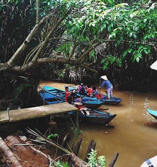 khu du lịch sinh thái Việt Nhật Bến Tre