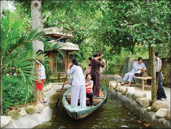 khu du lịch vườn cây Ba Láng