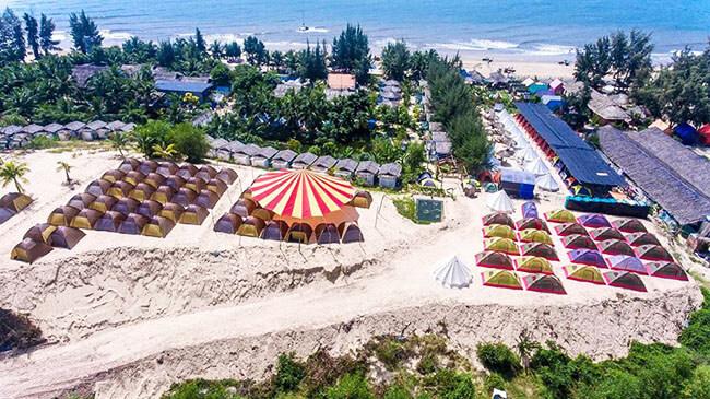 lều Coco Beachcamp
